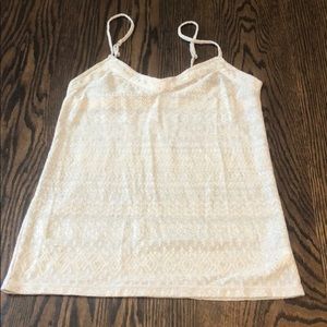 Shimmery Tank Top